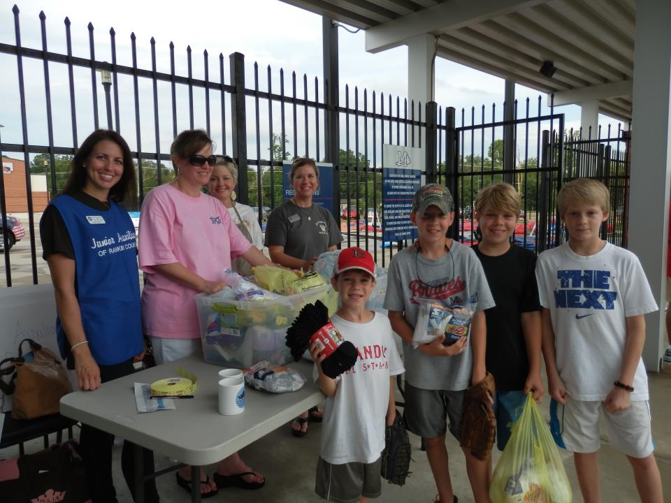 2012 JARC Braves Night - Socks n Tees Drive for Clothes Closet